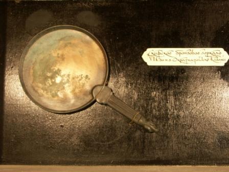 Как сделать зеркало из олова