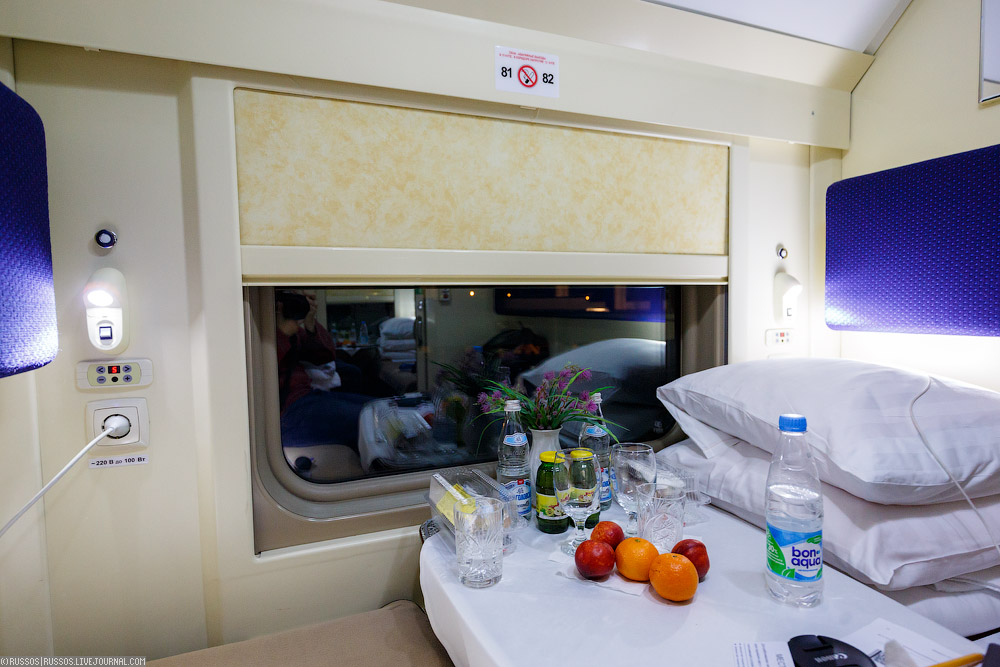 двухэтажный поезд внутри купе фото